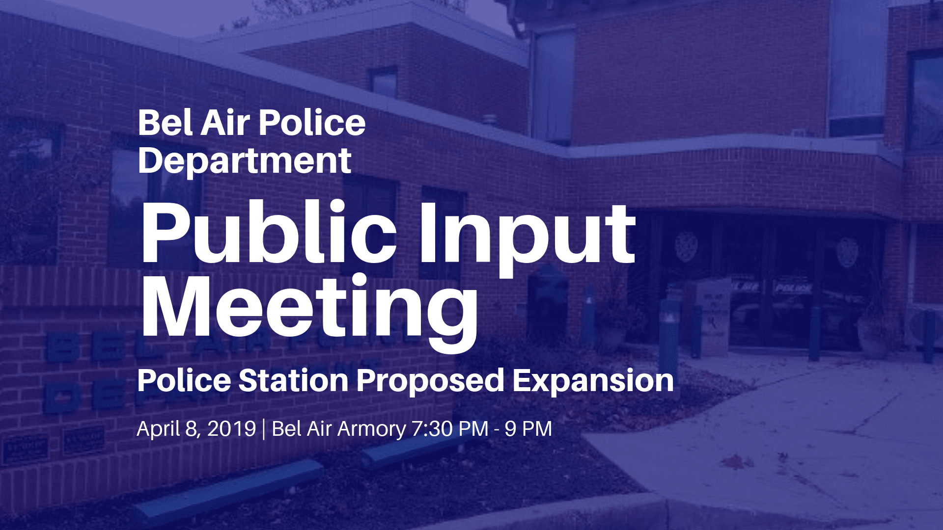 Police Station Proposed Expansion Public Input Graphic Apr 8 2019